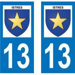 Sticker Plaque Istres 13800