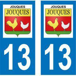 Sticker Plaque Jouques 13490