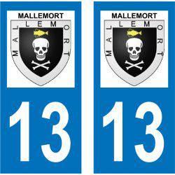 Sticker Plaque Mallemort 13370