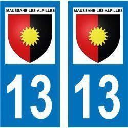 Sticker Plaque Maussane-les-Alpilles 13520