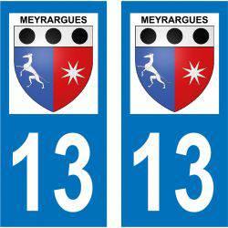 Sticker Plaque Meyrargues 13650