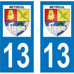 Sticker Plaque Meyreuil 13590