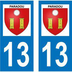 Sticker Plaque Paradou 13520