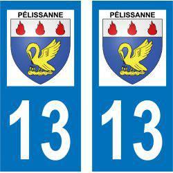 Sticker Plaque Pélissanne 13330