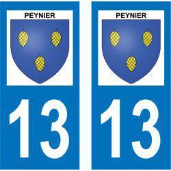Sticker Plaque Peynier 13790