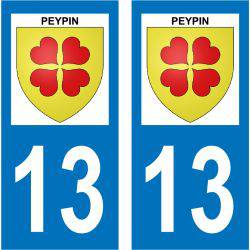 Sticker Plaque Peypin 13124