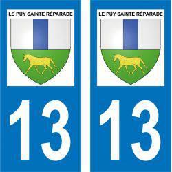Sticker Plaque Le Puy-Sainte-Réparade 13610
