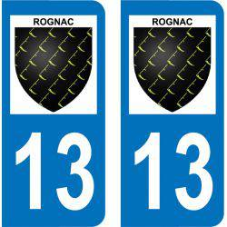 Autocollant Plaque Rognac 13340