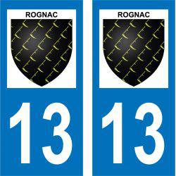 Sticker Plaque Rognac 13340