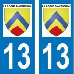 Sticker Plaque La Roque-d'Anthéron 13640