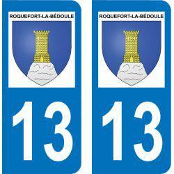 Autocollant  Plaque Roquefort-la-Bédoule 13830