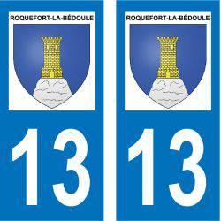 Sticker Plaque Roquefort-la-Bédoule 13830