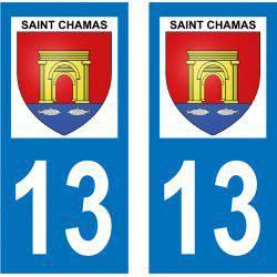Sticker Plaque Saint-Chamas 13250