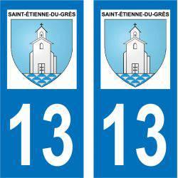 Sticker Plaque Saint-Étienne-du-Grès 13103