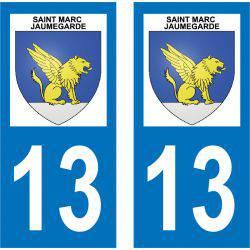 Sticker Plaque Saint-Marc-Jaumegarde 13100