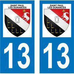 Sticker Plaque Saint-Paul-lès-Durance 13115