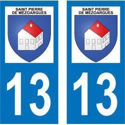 Sticker Plaque Saint-Pierre-de-Mézoargues 13150