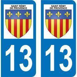 Autocollant  Plaque Saint-Rémy-de-Provence 13210