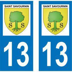 Sticker Plaque Saint-Savournin 13119