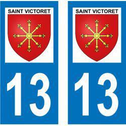 Sticker Plaque Saint-Victoret 13730