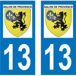 Sticker Plaque Salon-de-Provence 13300