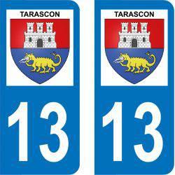 Autocollant Plaque Tarascon 13150