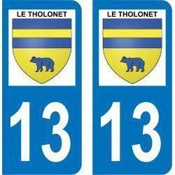 Autocollant Plaque Le Tholonet 13100