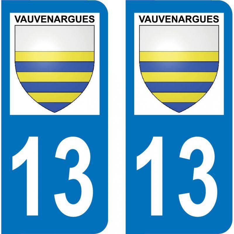 Autocollant Plaque Vauvenargues 13126