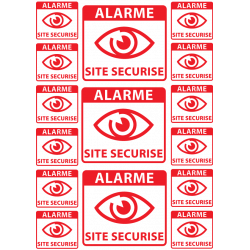 Plaquette de Stickers...