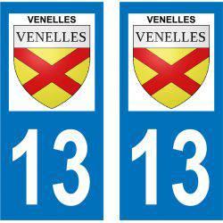 Sticker Plaque Venelles 13770