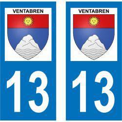 Sticker Plaque Ventabren 13122