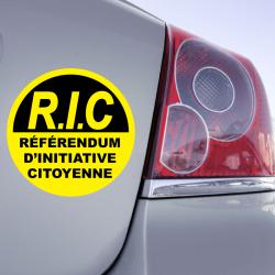 Autocollant R.IC. Référendum d'Initiative Citoyenne
