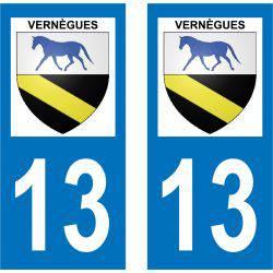 Sticker Plaque Vernègues 13116