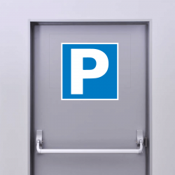 Autocollant Panneau Parking