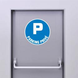 Sticker Panneau Parking Privé