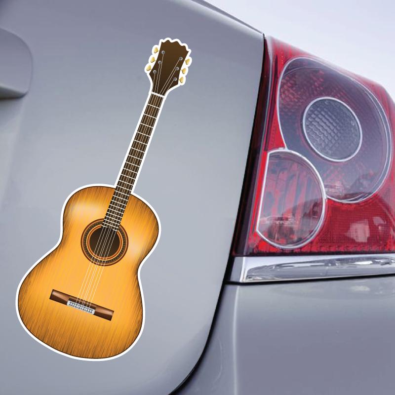Sticker Guitare Sèche