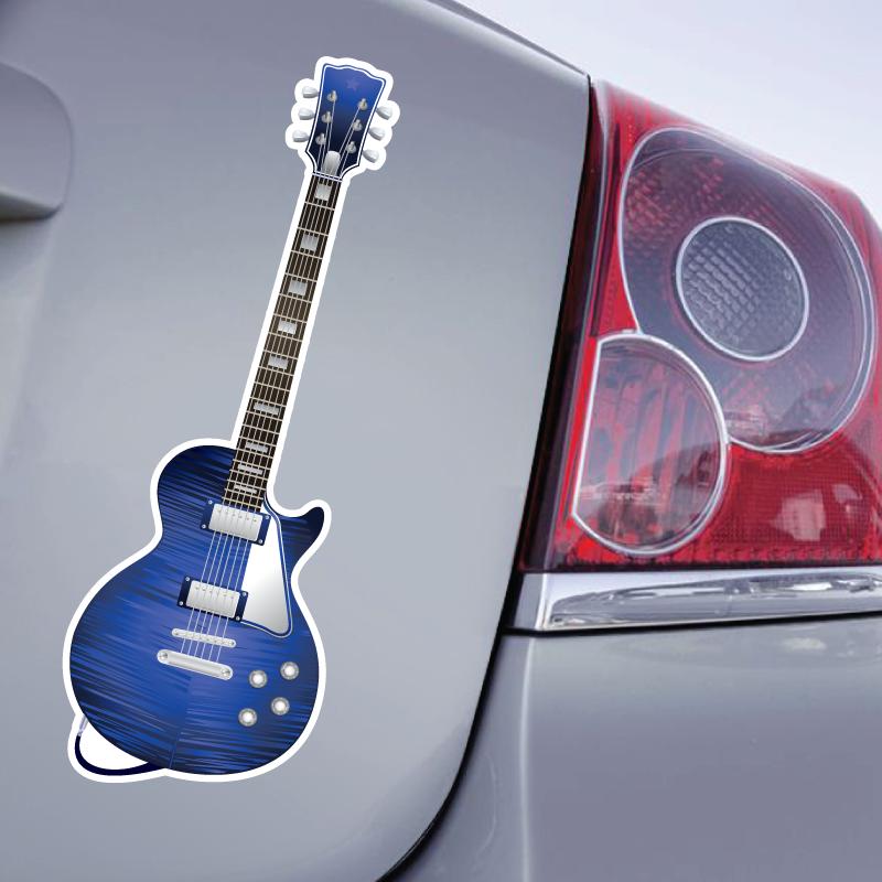 Sticker Guitare Electrique