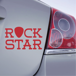 Sticker Rock star - 1