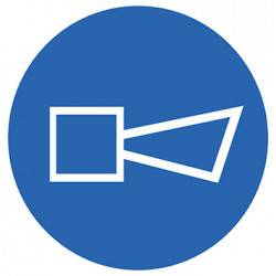 Sticker Panneau Obligation Sirène d'alarme