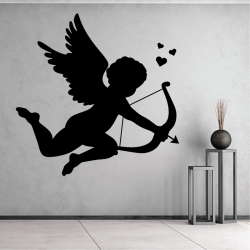 Sticker Mural Cupidon