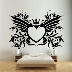 Sticker Mural Angel Cœur - 1