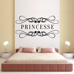 Autocollant Mural Princesse
