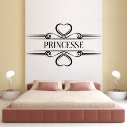 Sticker Mural Princesse
