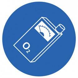 Sticker Panneau Oxymètre Obligatoire