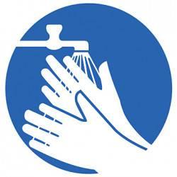 Sticker Panneau Lavage Des Mains Obligatoire