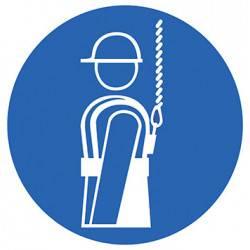 Sticker Panneau Protection individuelle obligatoire contre les chutes