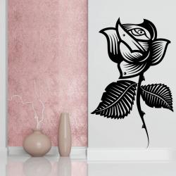 Sticker Mural Tatoo Rose