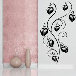 Sticker Mural Fleur De Cœur