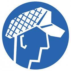Sticker Panneau Port D'une Capuche De Protection Obligatoire