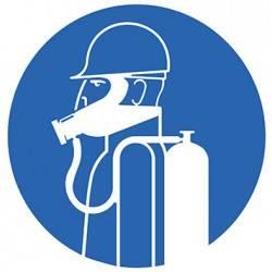 Sticker Panneau Port De Protection Des Voies Respiratoires Obligatoire